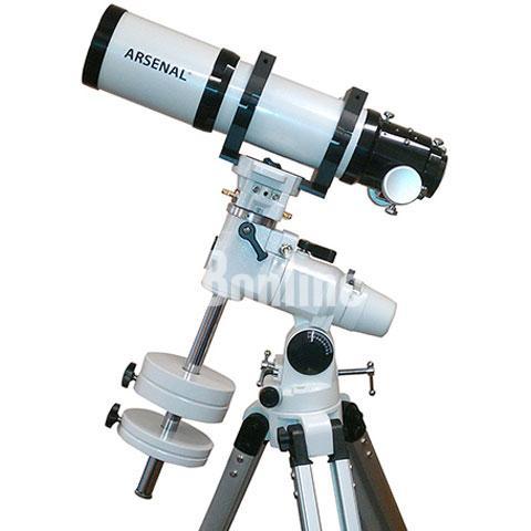 Продам Телескоп Arsenal 80/560, EQ3-2, ED, рефрактор, с кейсом
