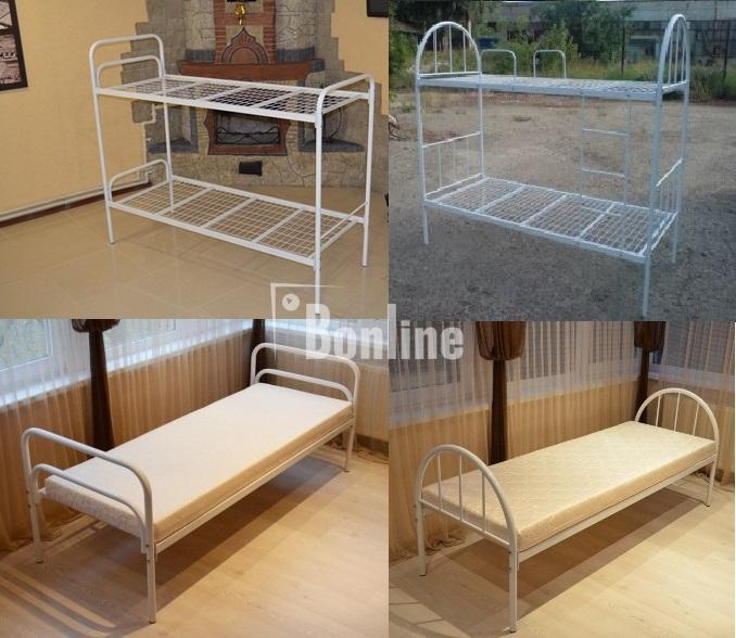 Кровати двухъярусные. Металлическая кровать. Кровати недорого