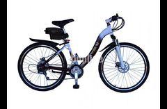 Электровелосипед Вольта Де люкс