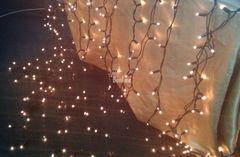 Гирлянда профессиональная Штора, внутренняя, лампы накаливания. Новогоднее украшение дома.