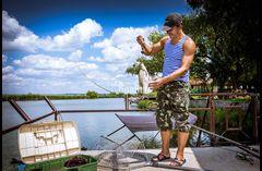 Отдых и рыбалка на Днестре.