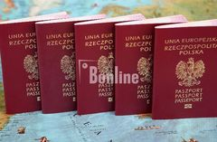Паспорт Польши. Карта поляка. Карта сталего побыту.