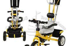 Велосипед 3-х колесный «Turbo-Yellow»