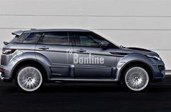 Все для тюнинга Range Rover Evoque: выхлопные, обвесы, аксессуары и другое