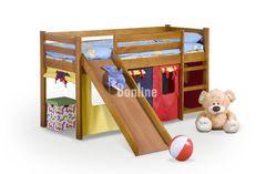 Детская кровать с горкой Neo Plus