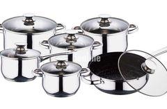 Набор посуды RENBERG BOLERO 12 пр. RB-2004 Очень гармоничный и весьма полезный набор кухонной посуды.