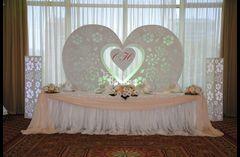 Свадебная арка сердце