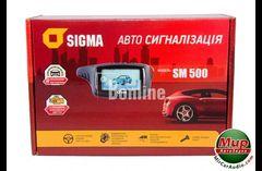 Сигнализация. Автосигнализация Sigma SM-500.
