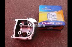 Головка цилиндра GY6-60/80  с пружинами и клапанами (4-х тактн. китаец (GY6))