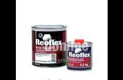Акриловая эмаль Reoflex черная 601 отвердителем