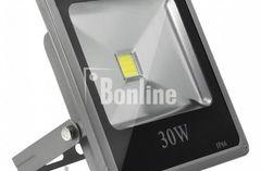 Светодиодный прожектор 30w (3000K 2480Lm).