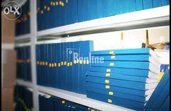 Полный комплекс услуг по архивной обработке и хранению документов