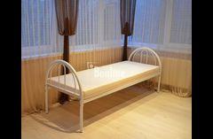 Металлическая кровать. Односпальная кровать. Двухъярусные кровати.