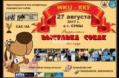 Всеукраинская выставка собак в Сумах 2017
