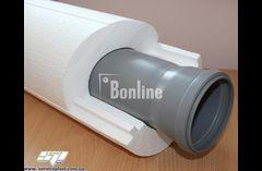 Пенопластовая скорлупа для теплоизоляции труб