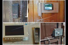 Подключение видеодомофона (монтаж видеодомофонных систем)