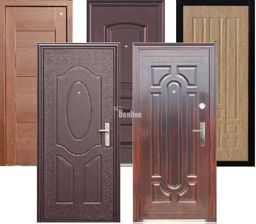 материал входной наружной двери