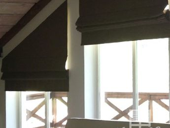 Римские шторы или жалюзи? Оформляем оконный проем красиво